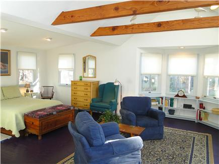 Chatham Cape Cod vacation rental - Large Master suite with vaulted ceilings, slider to deck
