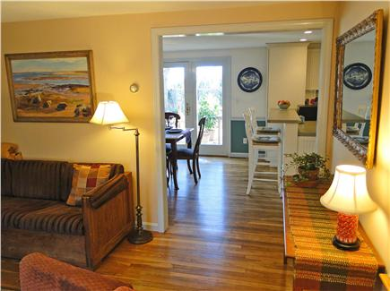 Chatham Cape Cod vacation rental - Hardwood floors, bright and open living space on main floor