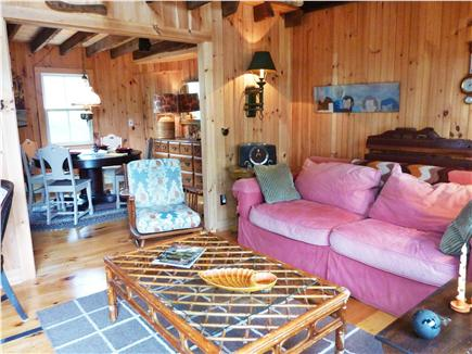 Provincetown Cape Cod vacation rental - Relaxed and comfortable Living & Dining Rooms