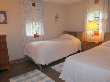 Popponesset, Mashpee Cape Cod vacation rental - Pink bedroom with 2 twin beds