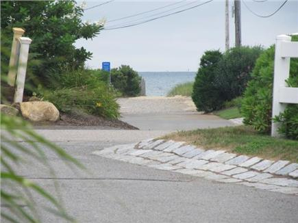 Popponesset, Mashpee Cape Cod vacation rental - View of Popponesset Beach from front yard