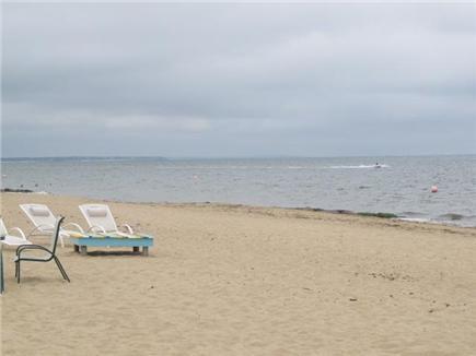 Popponesset, Mashpee Cape Cod vacation rental - Popponesset beach, 7 houses down