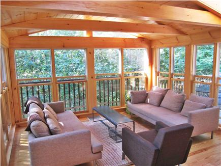 Wellfleet Cape Cod vacation rental - Comfortable and cozy screened-in porch