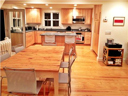 Wellfleet Cape Cod vacation rental - Open dining and well appointed kitchen w/mud-room/back entry