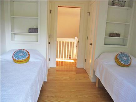 Wellfleet Cape Cod vacation rental - Twin bedroom with glass slider to small balcony