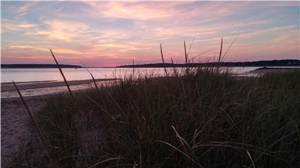 Wellfleet Cape Cod vacation rental - Sunset at nearby Indian Neck beach