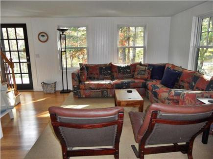 Wellfleet Cape Cod vacation rental - Spacious, contemporary living room