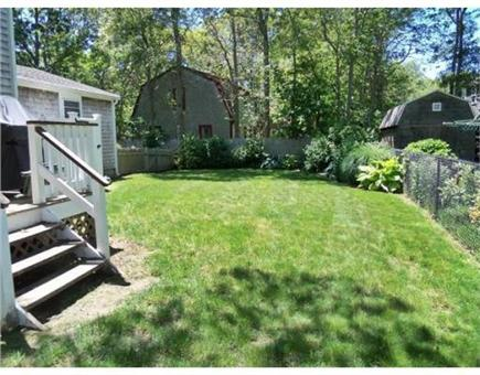 Falmouth Cape Cod vacation rental - Large fenced in yard!