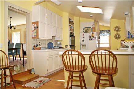 Harwichport, near Bank Street  Cape Cod vacation rental - Modern kitchen with breakfast bar