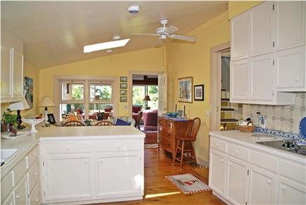 Harwichport, near Bank Street  Cape Cod vacation rental - Open layout from kitchen to family room
