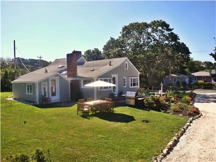 Hyannis Cape Cod vacation rental - Gosnold Manor backyard