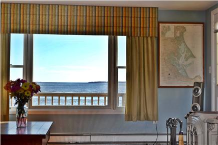 kingston MA vacation rental - Clearer pic of the view out of the picture windw in living room