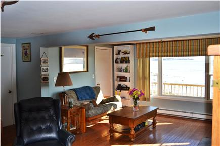 kingston MA vacation rental - Relax and take in the views on the futon