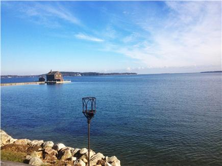 kingston MA vacation rental - Panoramic ocean views from porch