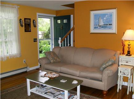 Eastham Cape Cod vacation rental - Front entrance and living room
