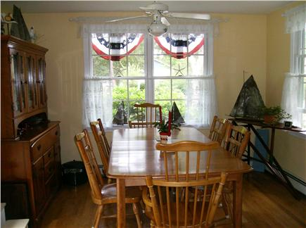 Eastham Cape Cod vacation rental - Dining room seats 6 comfortably