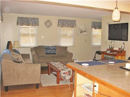 Brewster Cape Cod vacation rental - Living room with flatscreen TV