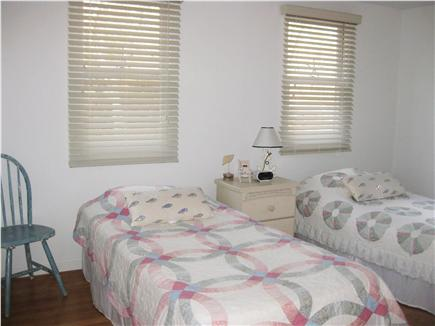 Brewster Cape Cod vacation rental - Twin beds on first floor with TV