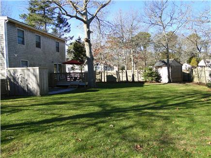 West Yarmouth Cape Cod vacation rental - Large, well-kept backyard, terrific for children