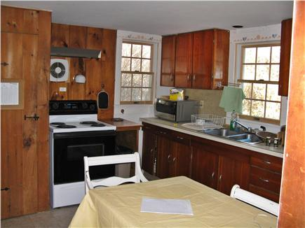 East Orleans Cape Cod vacation rental - View of Kitchen from ''Addition'' Living Room