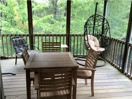 Wellfleet Cape Cod vacation rental - Screened in deck