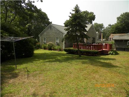 Yarmouth Cape Cod vacation rental - Back deck and yard