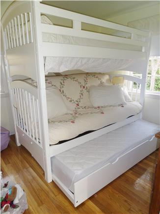 Brewster Cape Cod vacation rental - Second floor kids full folds to couch includes TV & DVD no cable