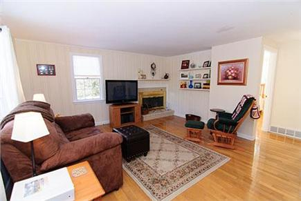 Brewster Cape Cod vacation rental - Comfortable first floor living Room w/ 42'' TV cable & DVD