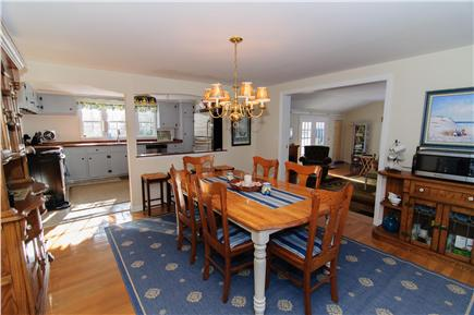 Brewster Cape Cod vacation rental - Open dinning room includes Keurig machine and microwave