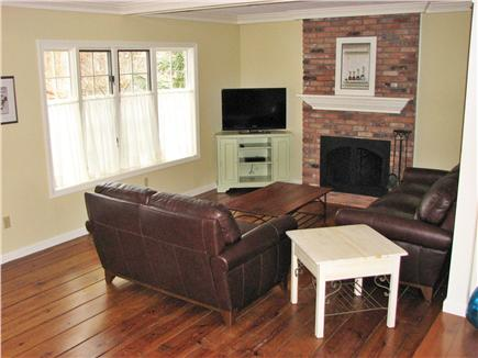 Brewster Cape Cod vacation rental - Living space part of open floor plan
