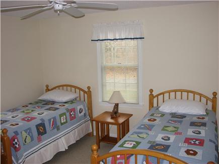 Brewster Cape Cod vacation rental - Bedroom with  set of Twins