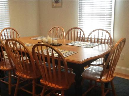 West Dennis Cape Cod vacation rental - Dining room seats 8 comfortably
