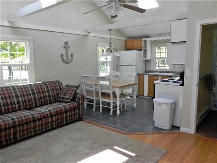 West Dennis Cape Cod vacation rental - 2nd side kitchen/living area/bathroom