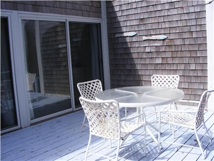 Brewster Cape Cod vacation rental - Back Deck