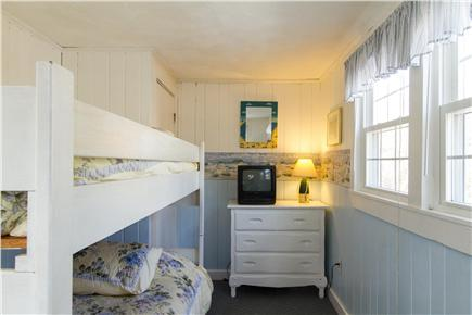 Popponesset Beach in Mashpee,  Cape Cod vacation rental - Bedroom with bunk beds