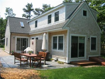 Eastham Cape Cod vacation rental - Step out from the living room to the open patio and sunshower