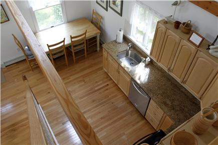 Eastham Cape Cod vacation rental - Open dining and kitchen with skylight