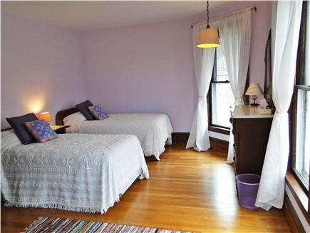 East Dennis Cape Cod vacation rental - Twin bedroom upstairs