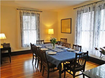 East Dennis Cape Cod vacation rental - Dining room accommodates 12 people
