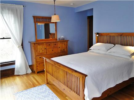 East Dennis Cape Cod vacation rental - Lovely queen bedroom upstairs