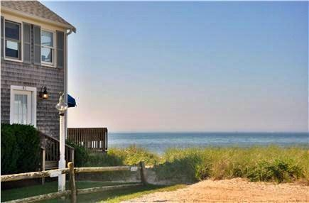 Hyannis Cape Cod vacation rental - Taken from our deck... looking at ocean and building one