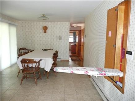 Yarmouth, Bass River Cape Cod vacation rental - Other side of kitchen with dining area & sliders to deck