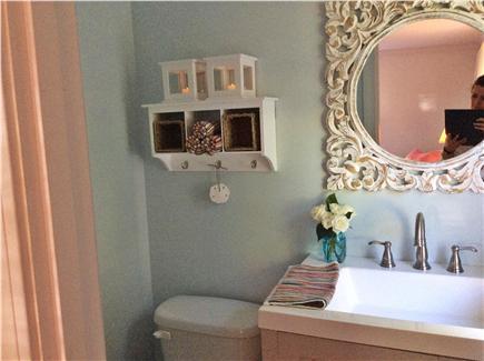 Dennis, Beach Street @ Mayflower beach Cape Cod vacation rental - half bathroom to master bedroom