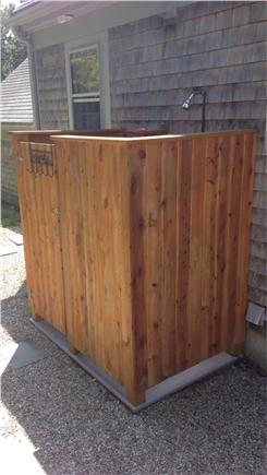 South Chatham Cape Cod vacation rental - Outdoor Shower
