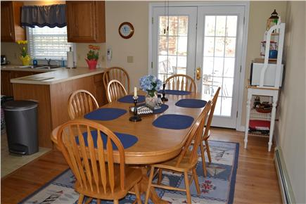 East Dennis Cape Cod vacation rental - Dining Room/Kitchen View