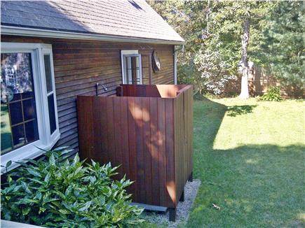 North Falmouth Cape Cod vacation rental - Outdoor shower