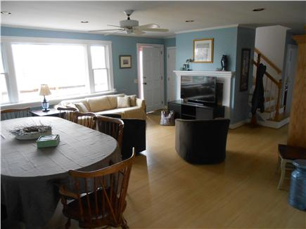 Brewster Cape Cod vacation rental - Open dining and living area