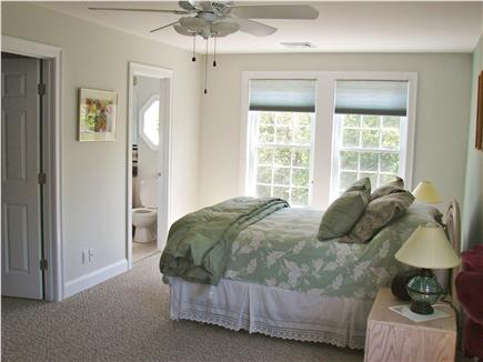Brewster Cape Cod vacation rental - 28' Master suite w/ 42'' LED TV / full bth/walk-in closet/internt
