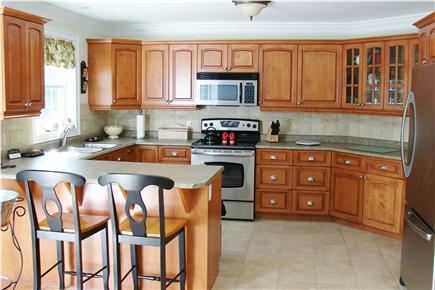 Brewster Cape Cod vacation rental - Expansive kitchen fully appointed with service for 10