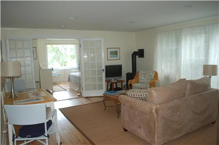 Orleans Town Cove Cape Cod vacation rental - Light-filled living/dining room- view 2